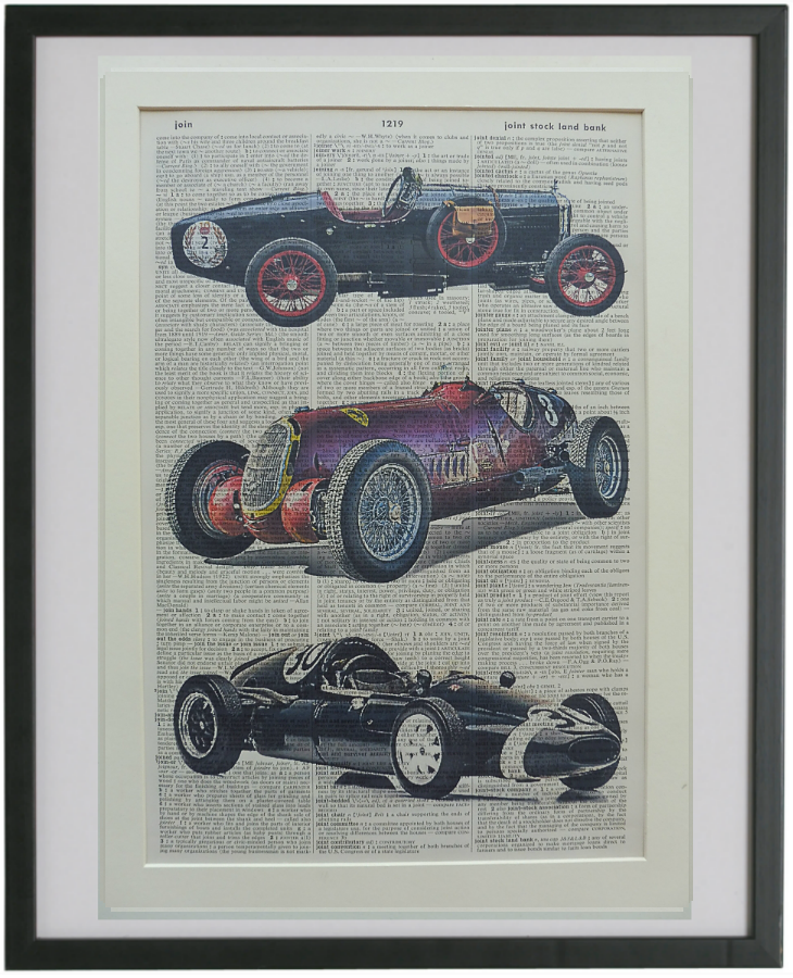 Formula 1 Racing Car Print No.785