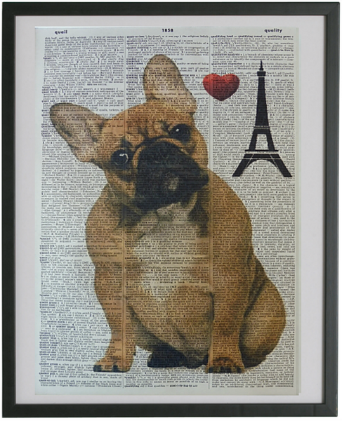 French Bulldog #2 Print No.103