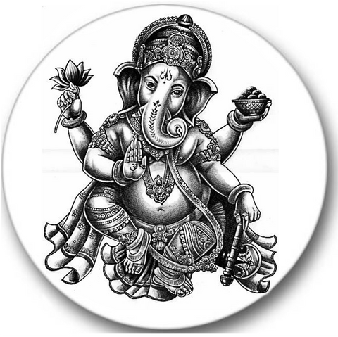Ganesha Sticker Seals No.298