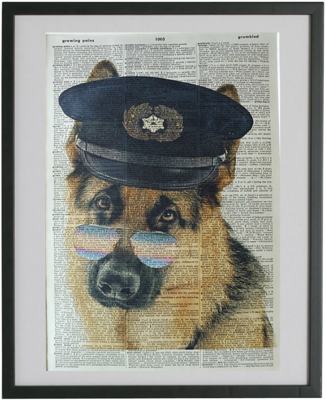 German Shepherd Dog Print No.31