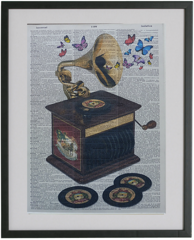Gramophone Print No.124, vintage equipment