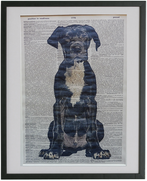 Great Dane Dog Print No.142