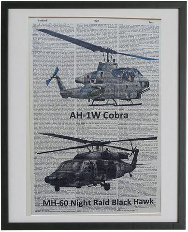 Helicopters Print No.436