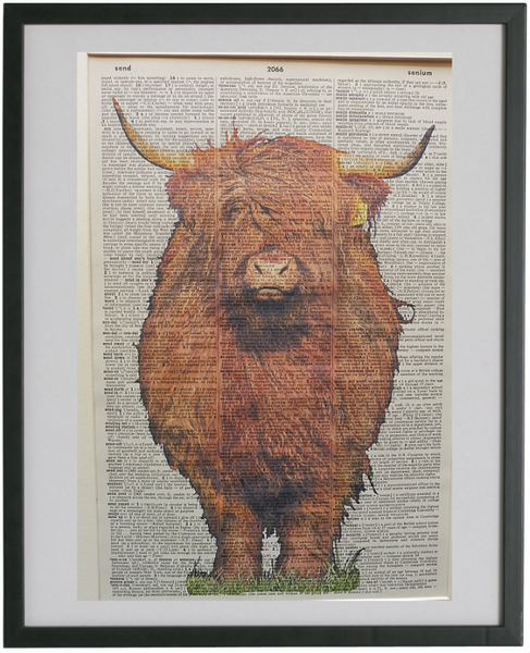 Highland Cow Print No.272, animals