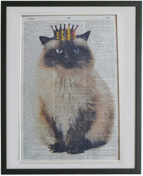 Himalayan Cat Wall Art No.914