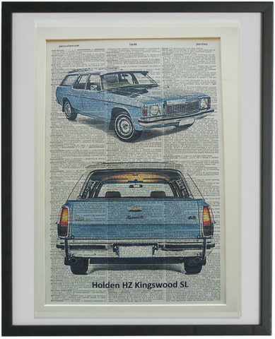 Holden HZ Kingswood Premier Car Print No.836