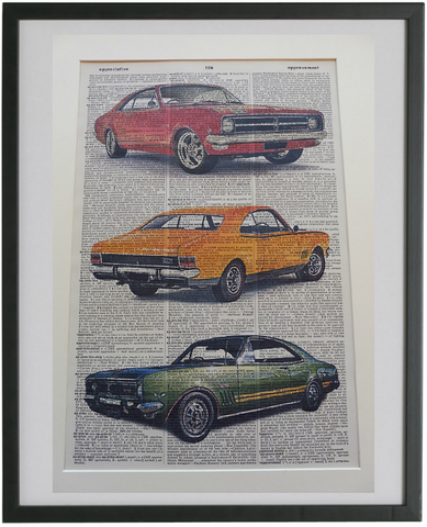 Holden Monaro Car Wall Art No.464