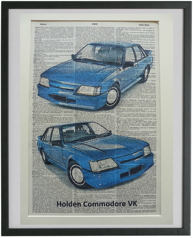 Holden Commodore VK Car Print No.715
