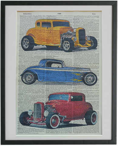 Hot Rods Car Print No.351