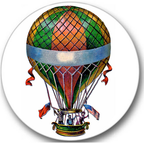 Hot Air Balloon Sticker Seals No.321
