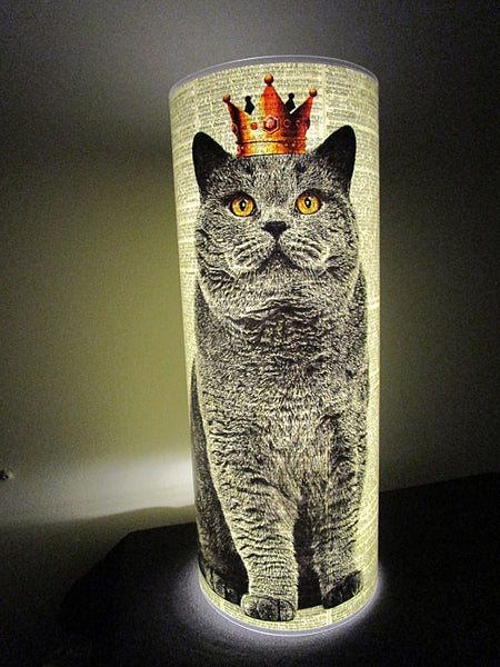British Shorthair Cat #2 Paper Lantern No.757