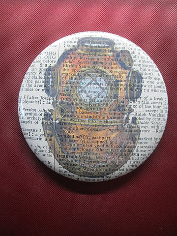 Diving Helmet Fridge Magnet No.95