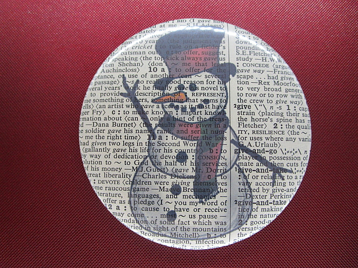 Snowman Fridge Magnet No.421