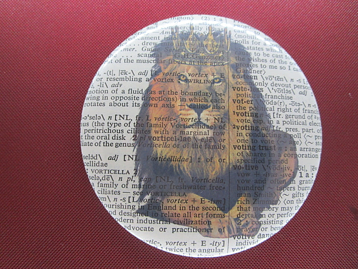 Lion #1 Fridge Magnet No.317, animals