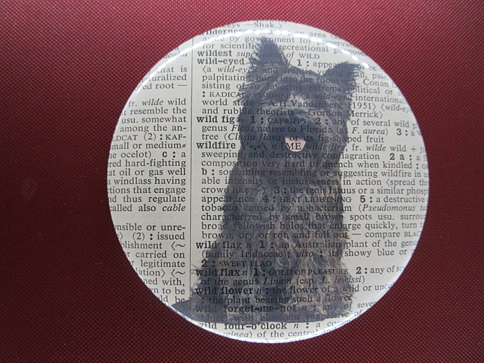 Cairn Terrier Dog #1 Button Badge No.110