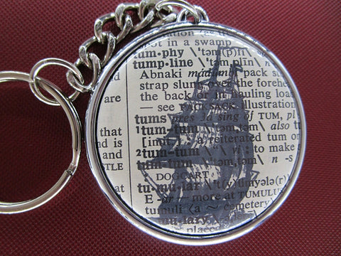 Clipper Sailing Ship Keyring No.571