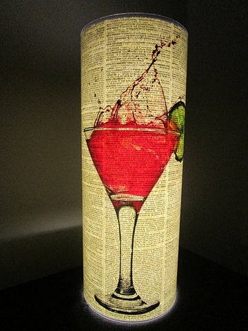 Pink Cocktail Paper Lantern No.521