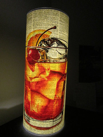 Old Fashioned Cocktail Paper Lantern No.943