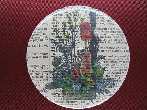 Australian Native Flowers Fridge Magnet No.67, botanical