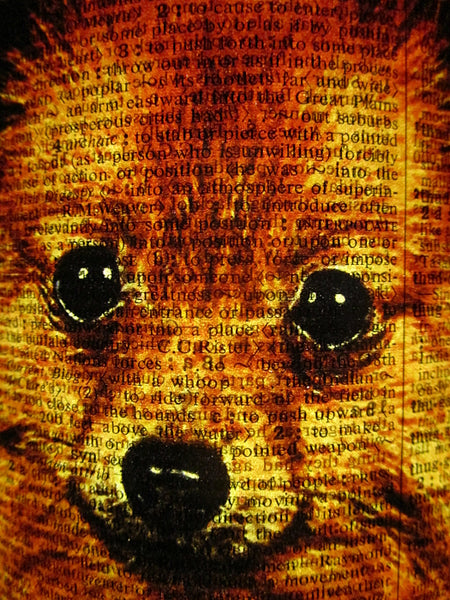 German Spitz Dog #1 Paper Lantern No.473