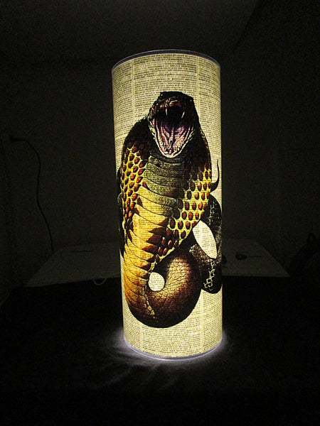 Cobra Snake Paper Lantern No.166, animals