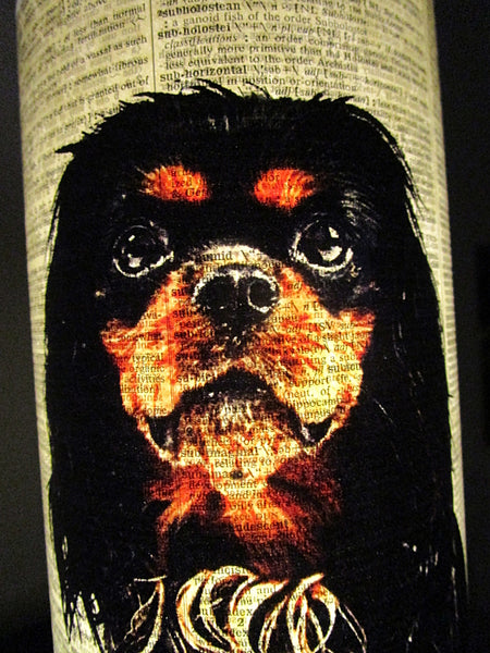 Sussex Spaniel Dog Paper Lantern No.348