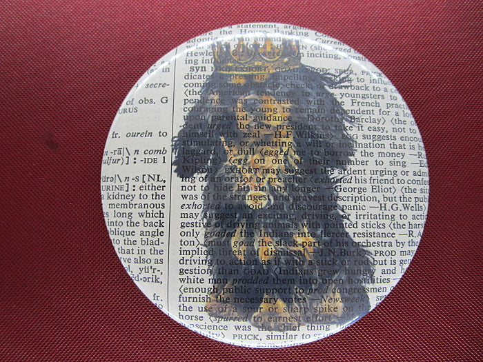 King Charles Cavalier Spaniel Dog #5 Fridge Magnet No.573