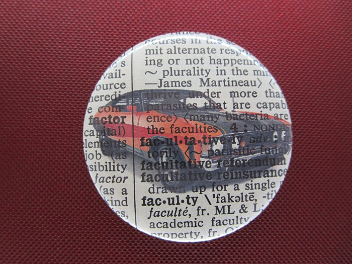 Ford Falcon XA Car Button Badge No.326