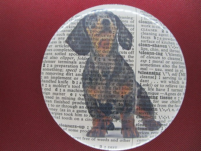 Dachshund Dog #11 Fridge Magnet No.584
