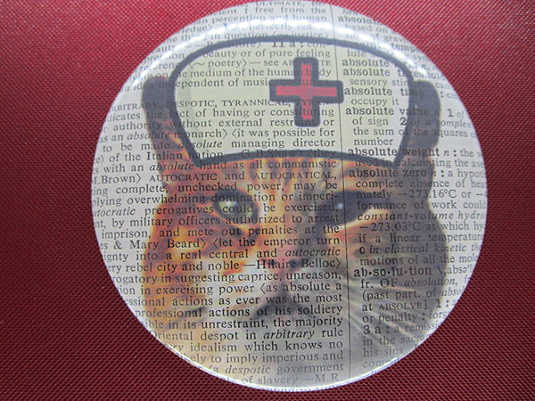 Ginger Cat Nurse Fridge Magnet No.238