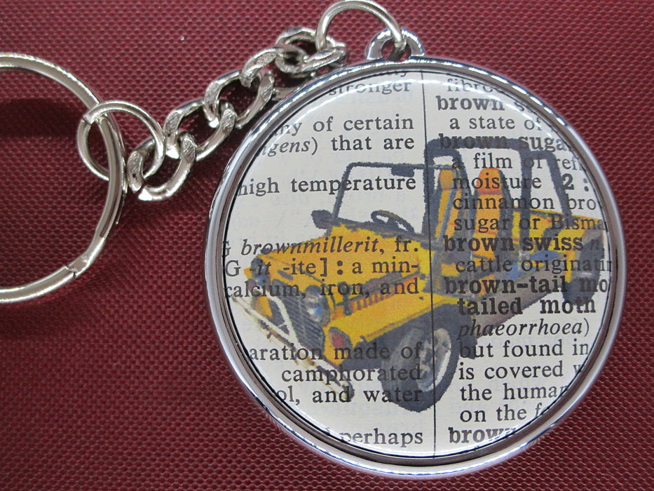 Mini Moke Car Keyring No.615