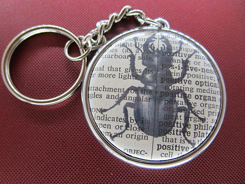 Stag Beetle Keyring No.296