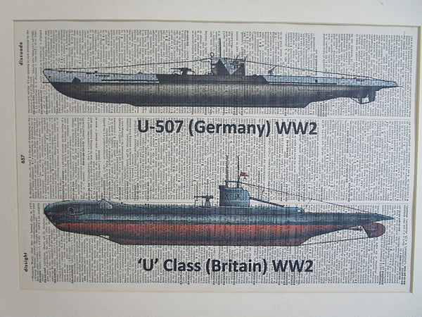 Submarines Wall Print No.991