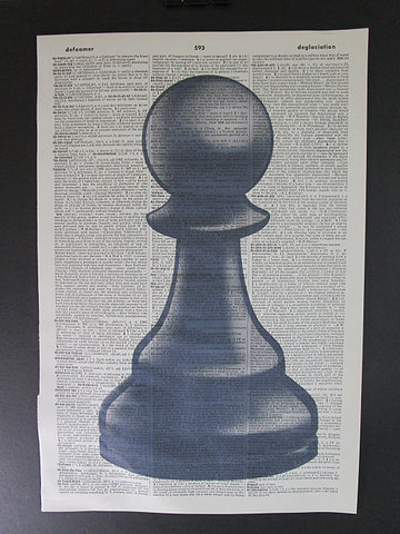 Pawn Chess Piece Wall Art No.1015