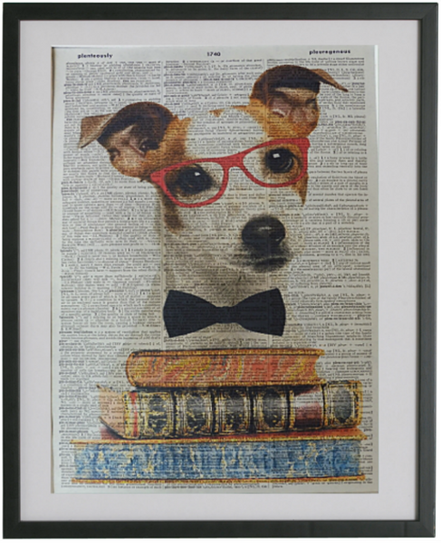 Jack Russell Terrier Dog Print No.30