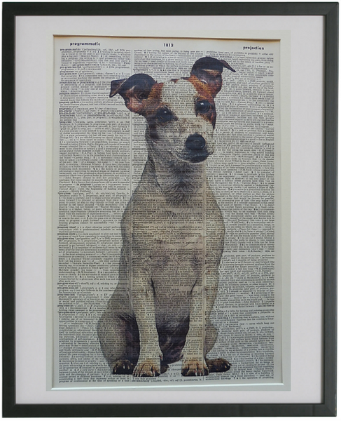 Jack Russell Terrier Dog Print No.702