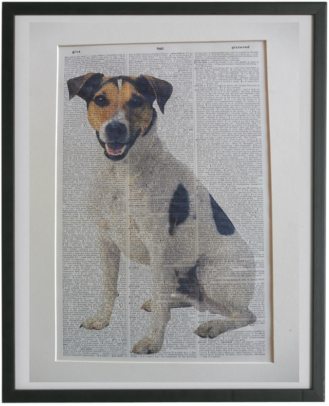 Jack Russell Terrier Dog Print No.851