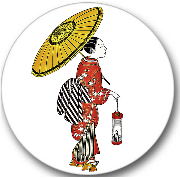 Japanese Geisha Sticker Seals No.840