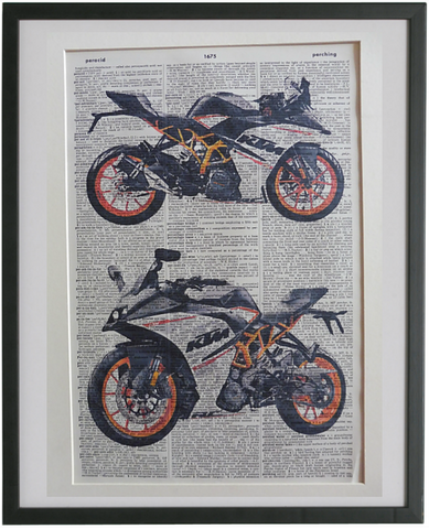 KTM Motorcycle Print No.931