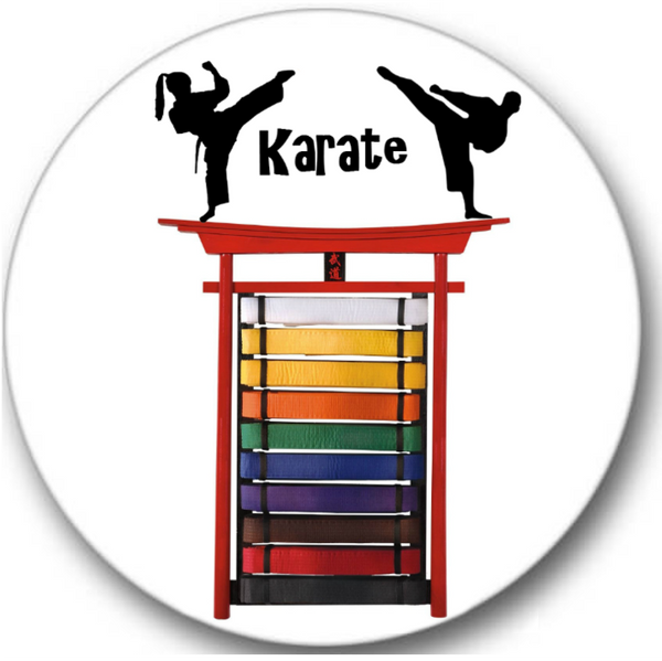 Karate #1 Sticker Seals No.75
