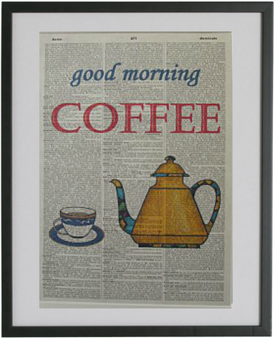 Coffee Pot Print No.23, miscellaneous