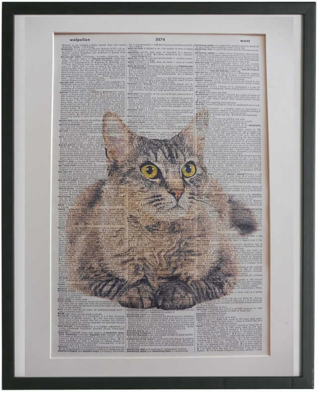LaPerm Cat Wall Art No.122