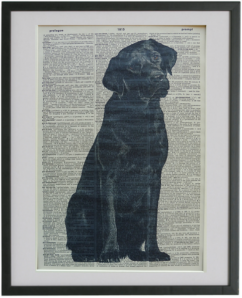 Labrador Dog Print No.575
