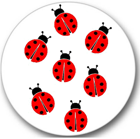 Ladybugs Sticker Seals No.645