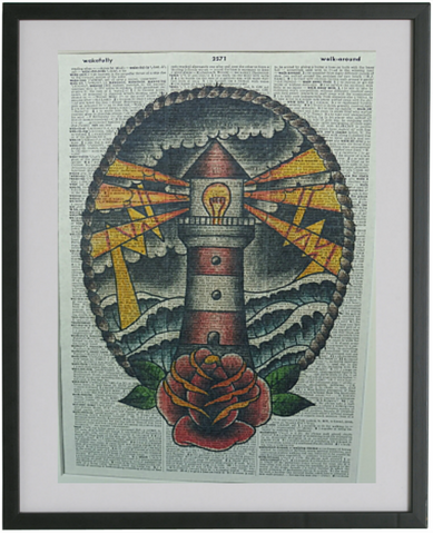 Lighthouse Print No.324