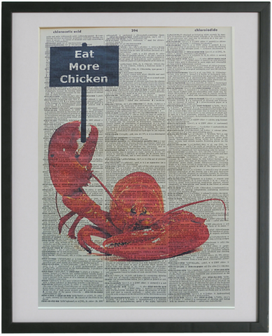 Lobster Print No.426