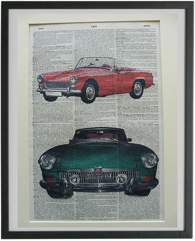 MG Sports Car Print No.726