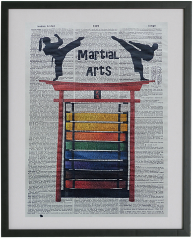 Martial Arts Print No.68