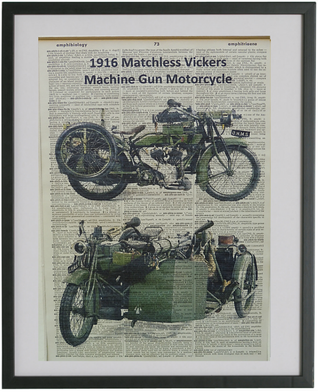 Matchless-Vickers Motorcycle Print No.458