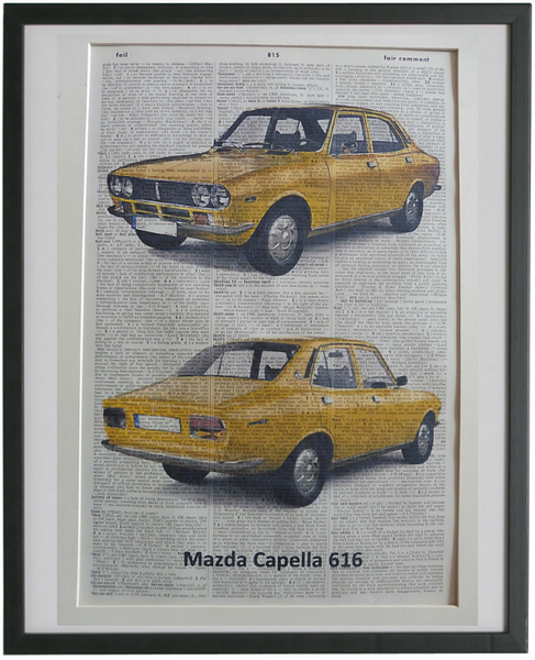 Mazda Capella 616 Car Print No.925